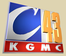 KGMC Channel 43v Logo